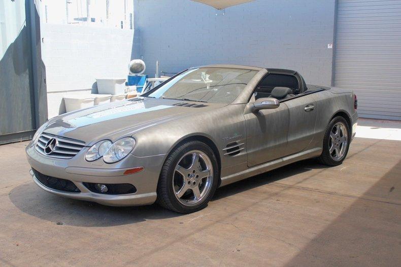 Pewter metallic 2006 mercedes benz sl55 amg for sale mcg for Mercedes benz sl55 amg specs