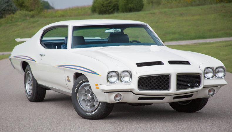White 1971 Pontiac Gto Judge For Sale  MCG Marketplace
