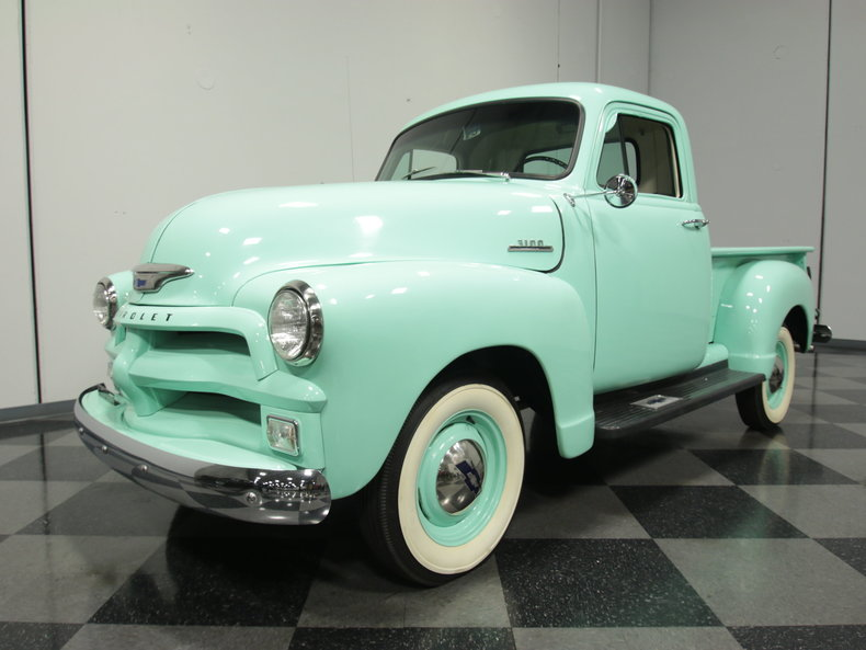 Seafoam Green 1954 Chevrolet 3100 For Sale | MCG Marketplace