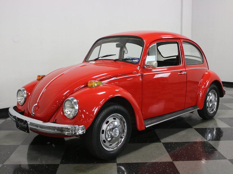 red 1970 volkswagen beetle for sale mcg marketplace. Black Bedroom Furniture Sets. Home Design Ideas