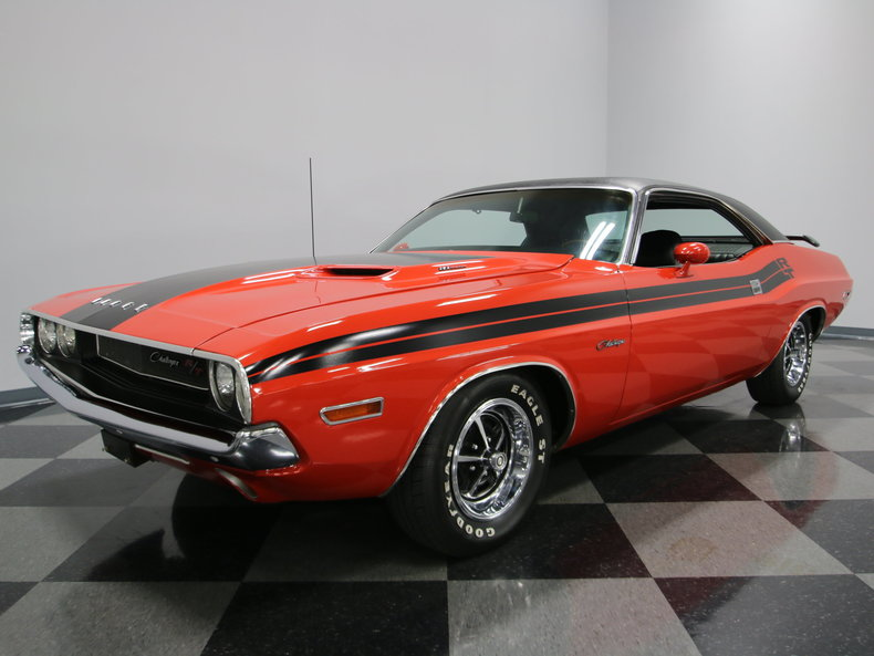 red 1970 dodge challenger for sale mcg marketplace. Black Bedroom Furniture Sets. Home Design Ideas