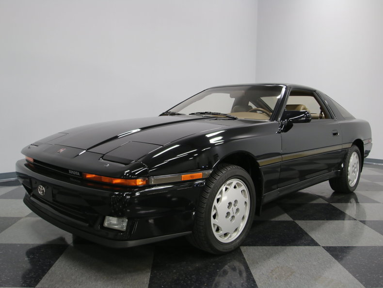 tan 1987 toyota supra for sale mcg marketplace. Black Bedroom Furniture Sets. Home Design Ideas