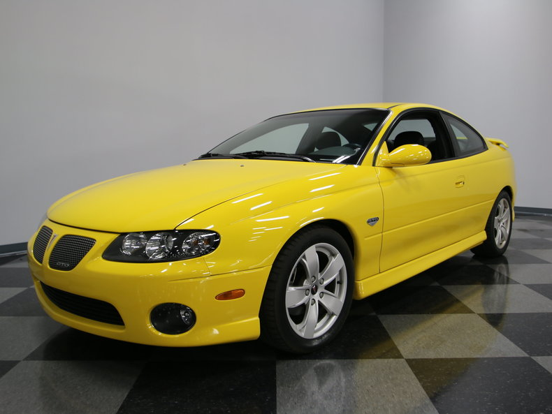 yellow jacket 2004 pontiac gto for sale mcg marketplace. Black Bedroom Furniture Sets. Home Design Ideas