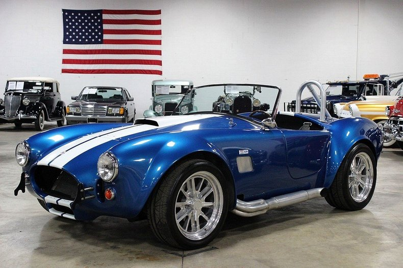 Racing Blue 1965 Shelby Cobra For Sale Mcg Marketplace