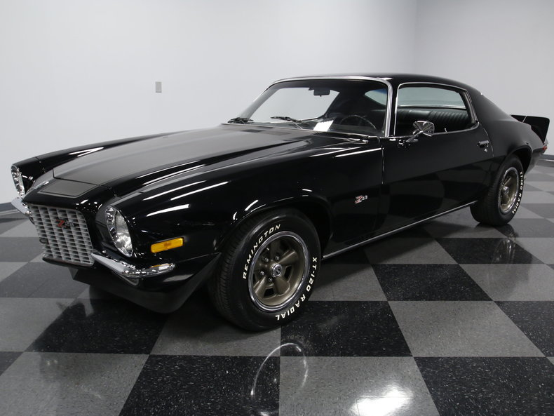 black 1970 chevrolet camaro for sale mcg marketplace. Black Bedroom Furniture Sets. Home Design Ideas