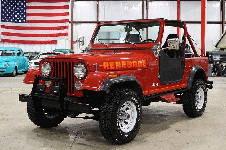 Grand Rapids Car Dealers >> Sebring Red 1983 Jeep Cj7 For Sale   MCG Marketplace