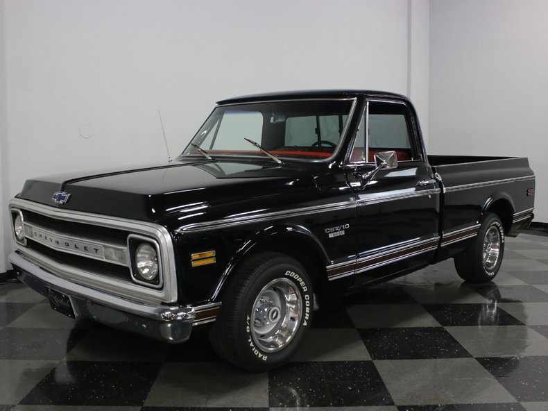 Black 1970 Chevrolet C10 For Sale Mcg Marketplace