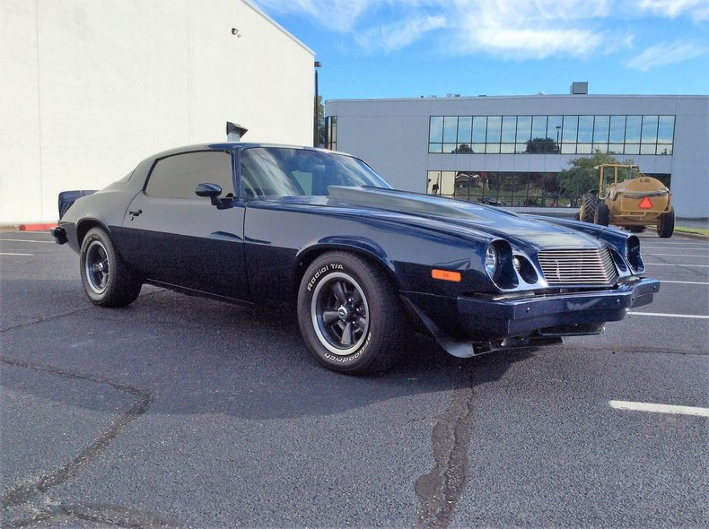 Blue 1977 Chevrolet Camaro For Sale Mcg Marketplace