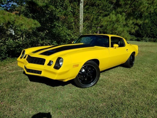 Yellow 1979 Chevrolet Camaro For Sale Mcg Marketplace
