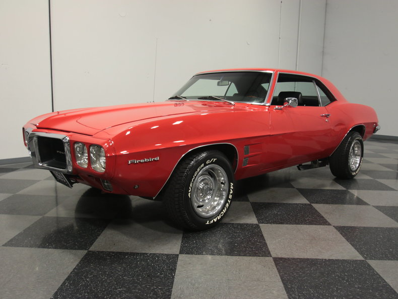Red 1969 Pontiac Firebird For Sale Mcg Marketplace