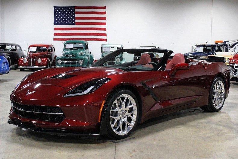 Long Beach Red Metallic 2016 Chevrolet Corvette Stingray