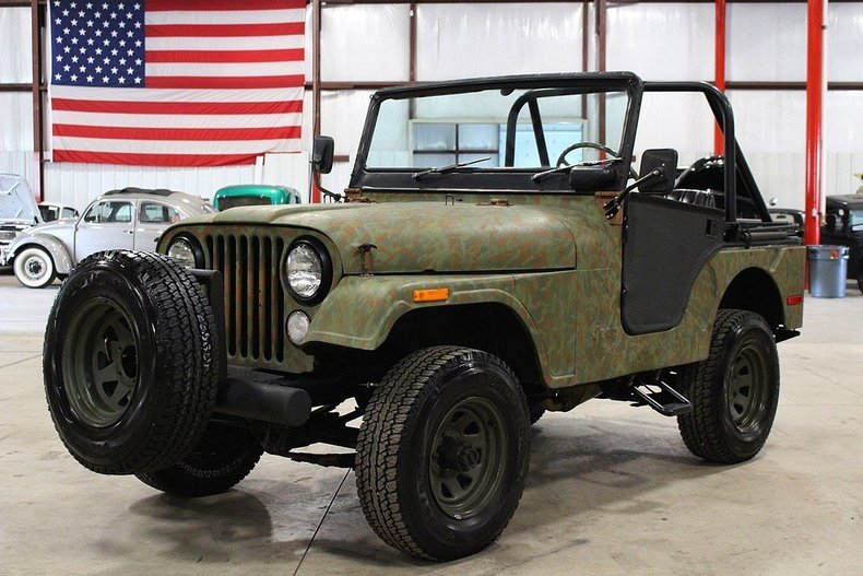 Camouflage 1974 Jeep Cj 5 For Sale Mcg Marketplace