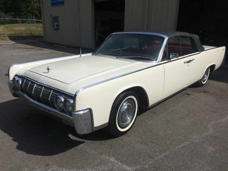 artic white 1964 lincoln continental for sale mcg. Black Bedroom Furniture Sets. Home Design Ideas