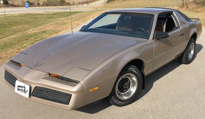 Gold 1984 Pontiac Firebird For Sale   MCG Marketplace