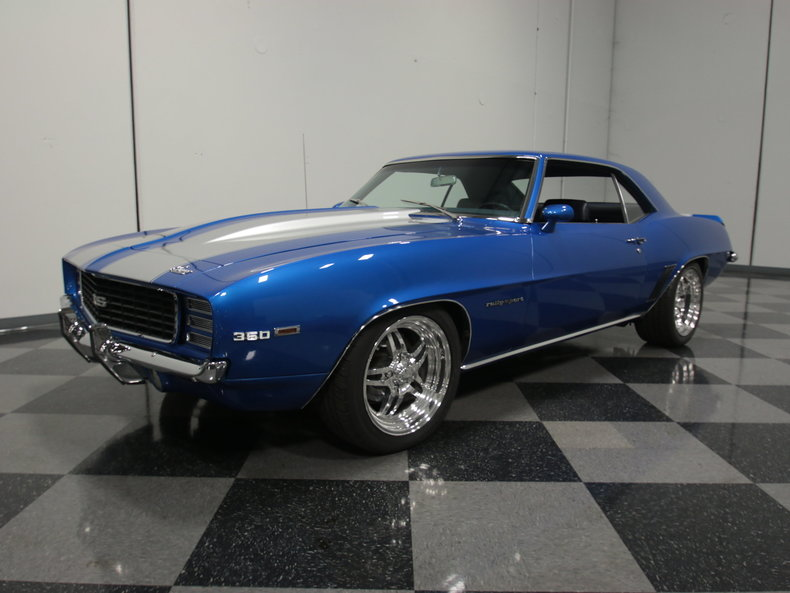 Blue 1969 Chevrolet Camaro Rs For Sale Mcg Marketplace