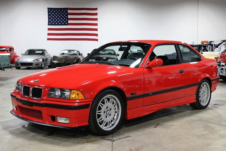 bright red 1995 bmw m3 for sale mcg marketplace. Black Bedroom Furniture Sets. Home Design Ideas