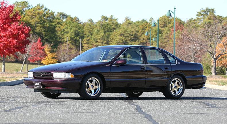 1996 Chevrolet Impala Super Sport Post Mcg Social