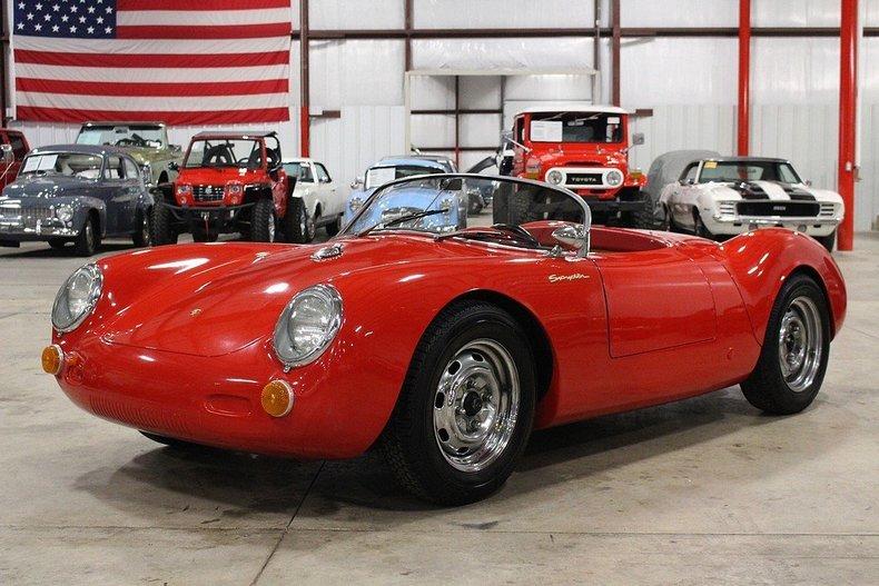 Red 1955 Porsche 550 Spyder For Sale Mcg Marketplace