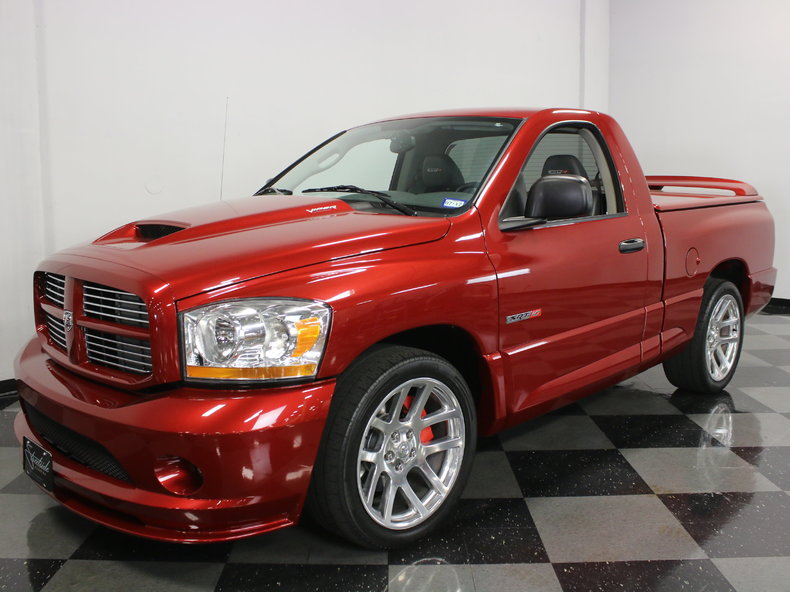 inferno red 2006 dodge ram srt 10 for sale mcg marketplace. Black Bedroom Furniture Sets. Home Design Ideas