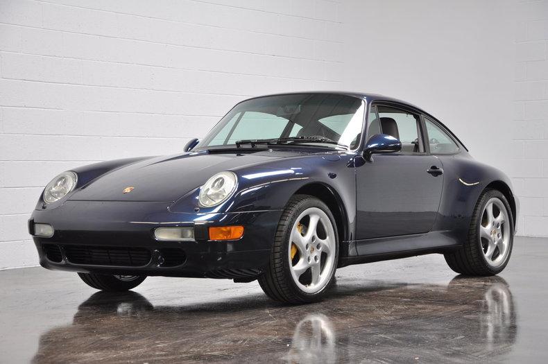 Ocean Blue Metallic 1997 Porsche 993 For Sale
