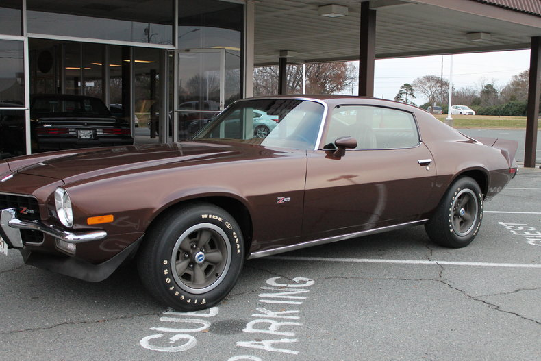 Brown 1973 Chevrolet Camaro Z28 For Sale Mcg Marketplace