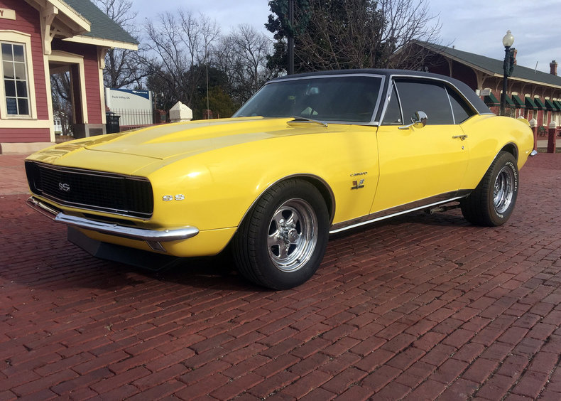 Yellow 1967 Chevrolet Camaro Rs Ss For Sale Mcg Marketplace