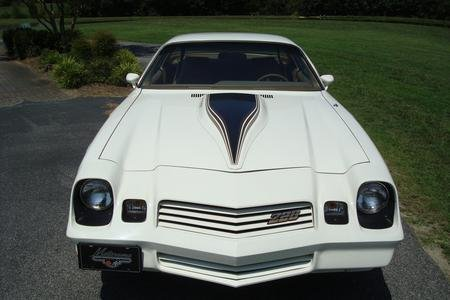 White 1980 Chevrolet Camaro Z28 For Sale Mcg Marketplace