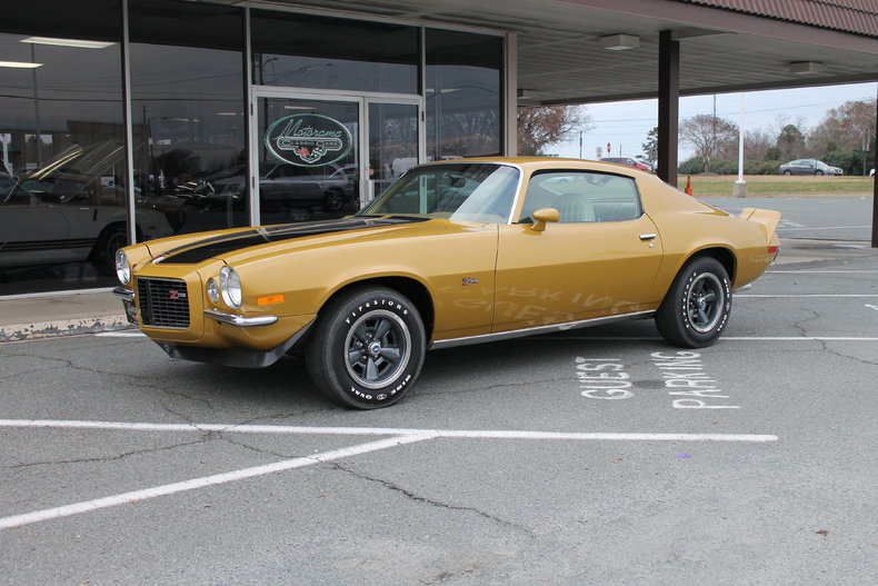 Gold 1972 Chevrolet Camaro For Sale Mcg Marketplace