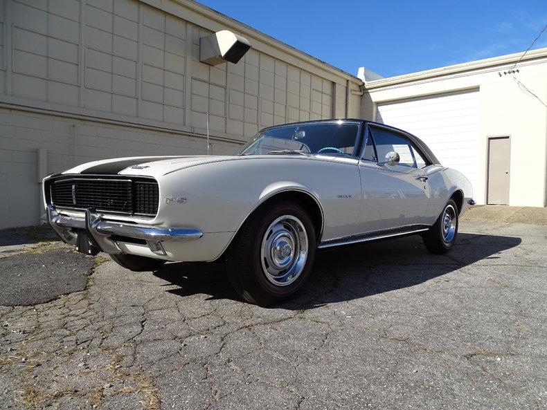 White 1967 Chevrolet Camaro For Sale Mcg Marketplace