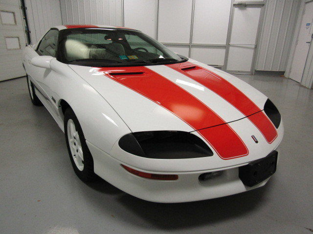 White 1997 Chevrolet Camaro Z28 For Sale Mcg Marketplace