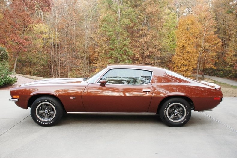 Classic Copper 1970 Chevrolet Camaro Z28 For Sale Mcg Marketplace