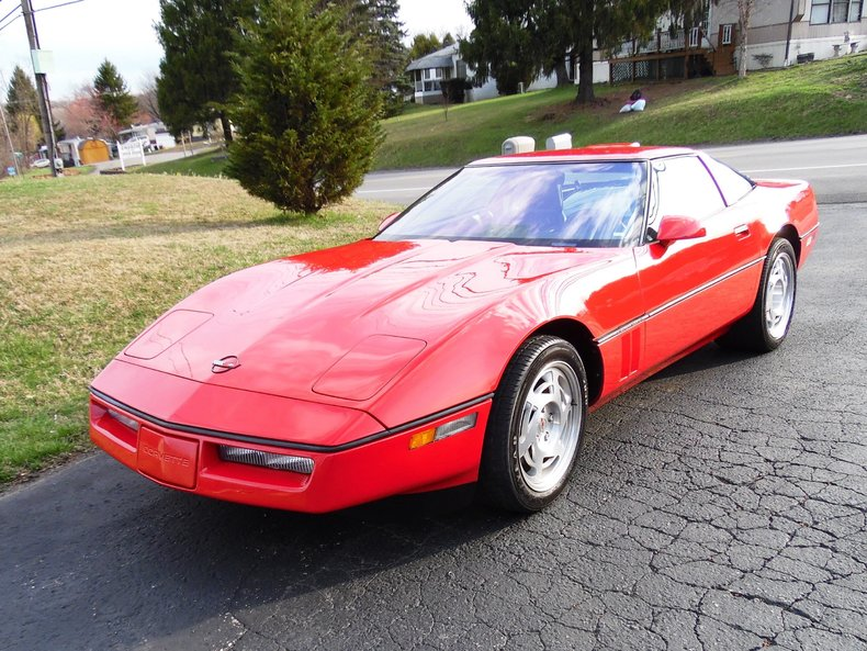 red 1990 chevrolet corvette zr1 for sale mcg marketplace. Cars Review. Best American Auto & Cars Review