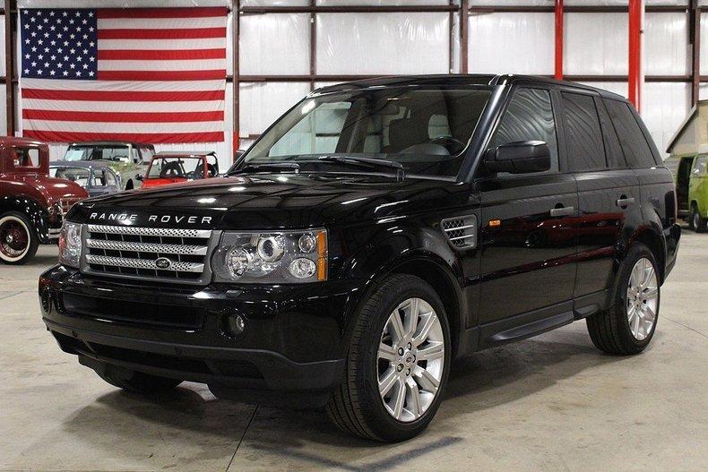 Black 2008 land rover range rover for sale mcg marketplace for Garage land rover villeneuve d ascq