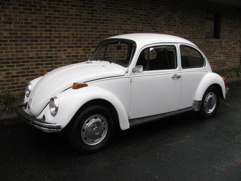White 1974 Volkswagen Beetle For Sale | MCG Marketplace