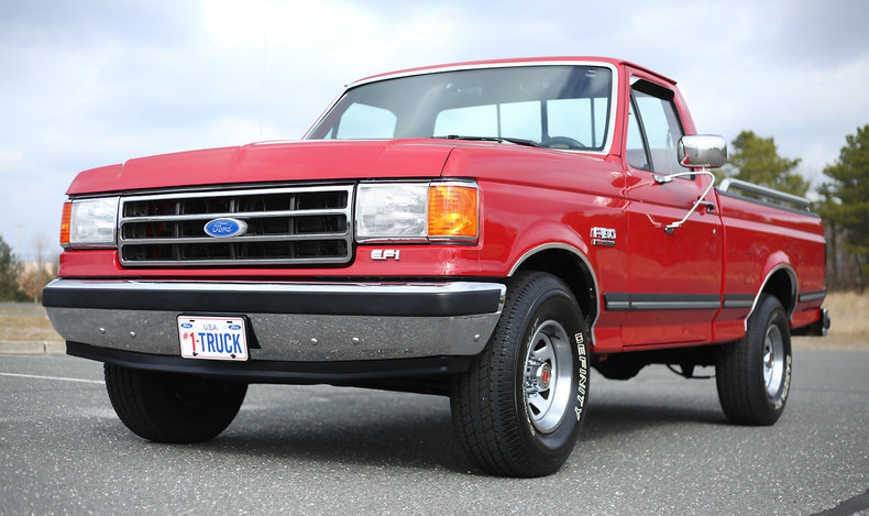 Red 1990 Ford F150 For Sale Mcg Marketplace
