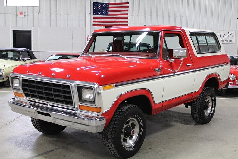 red and white 1978 ford bronco for sale mcg marketplace. Cars Review. Best American Auto & Cars Review
