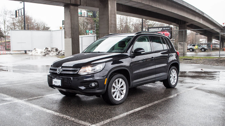 Black 2014 Volkswagen Tiguan For Sale Mcg Marketplace