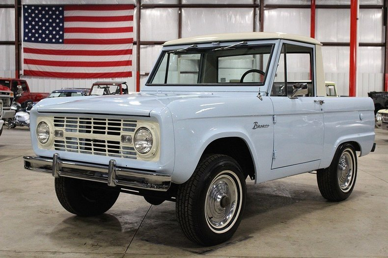 arcadia blue 1966 ford bronco for sale mcg marketplace. Black Bedroom Furniture Sets. Home Design Ideas