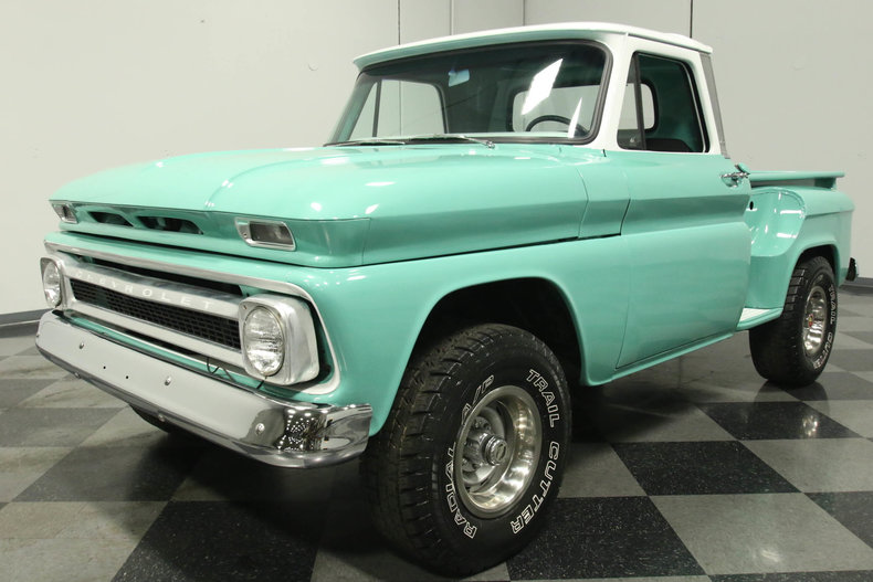 Teal 1965 Chevrolet C10 For Sale Mcg Marketplace