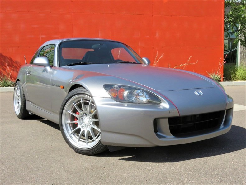 dark gray 2007 honda s2000 for sale mcg marketplace. Black Bedroom Furniture Sets. Home Design Ideas