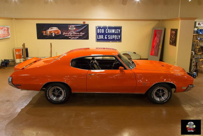 Flame orange 1972 buick gs for sale mcg marketplace for Garage auto orange