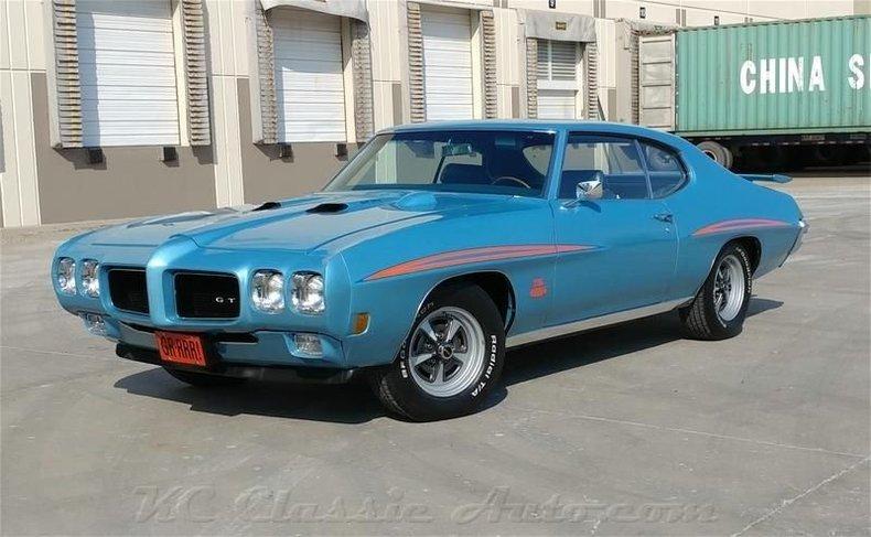 Bermuda Blue 1970 Pontiac Gto For Sale Mcg Marketplace