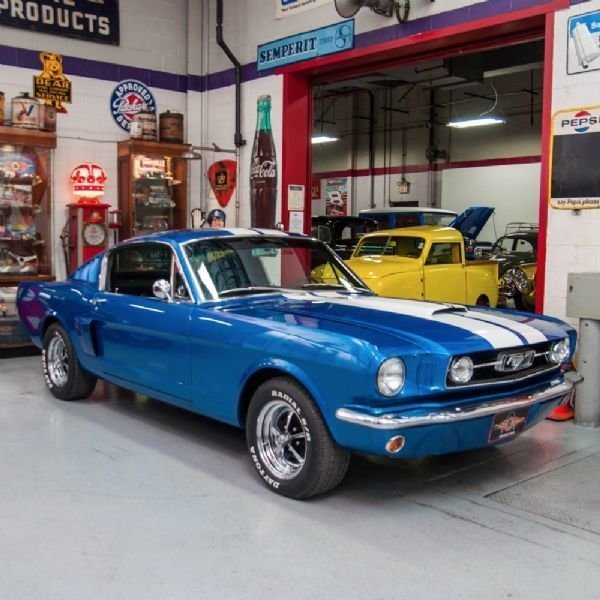 Elder Ford Of Tampa Home: Dark Blue 1966 Ford Mustang Fastback For Sale