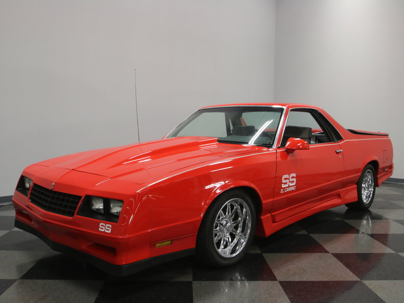 Torch Red 1983 Chevrolet El Camino For Sale Mcg Marketplace