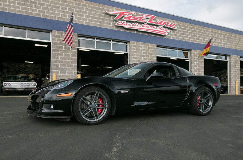 black 2007 chevrolet corvette z06 for sale mcg marketplace. Black Bedroom Furniture Sets. Home Design Ideas