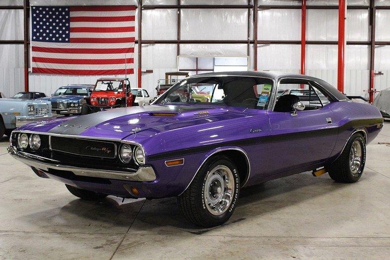 Dodge Challenger 1969 Black >> Plum Crazy Purple 1970 Dodge Challenger R/T For Sale | MCG Marketplace