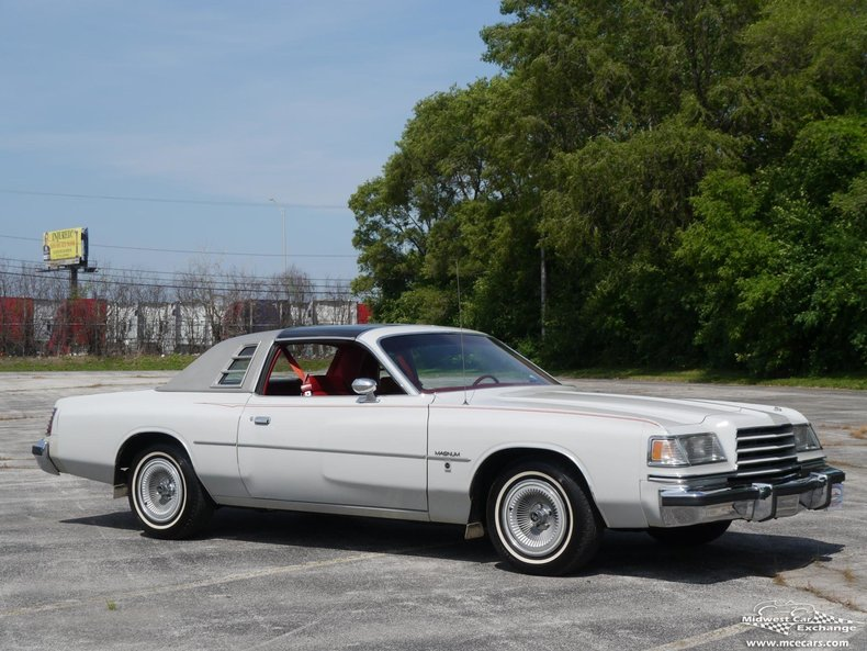 dove gray 1978 dodge magnum for sale mcg marketplace. Black Bedroom Furniture Sets. Home Design Ideas