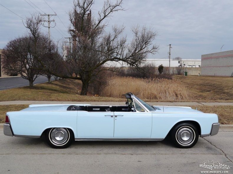light blue 1964 lincoln continental for sale mcg marketplace. Black Bedroom Furniture Sets. Home Design Ideas