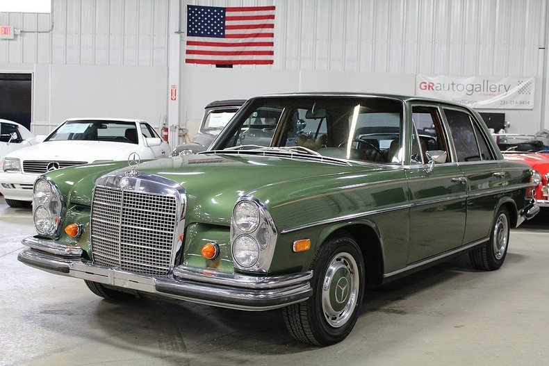 Green 1968 mercedes benz 280 s for sale mcg marketplace for Mercedes benz 1968 for sale