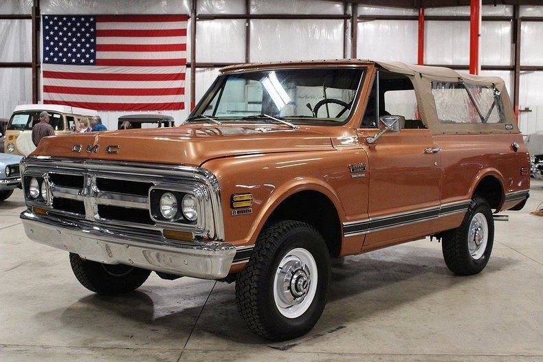 bronze 1970 gmc jimmy for sale mcg marketplace. Black Bedroom Furniture Sets. Home Design Ideas